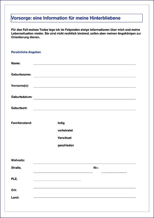 Mustervorlagevordruckbeispiel Fr Eine Vollmacht Zur Kfz Zulassung